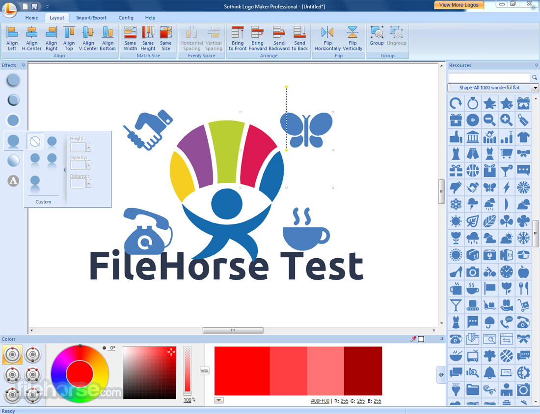 Sothink Logo Maker Professional 4.4 Build 4625 Screenshot 4