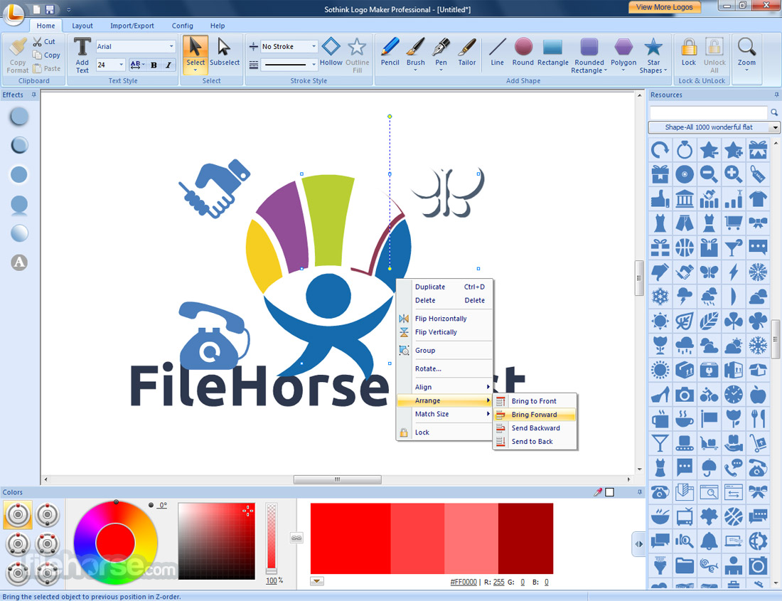 Sothink Logo Maker Professional 4.4 Build 4625 Captura de Pantalla 5