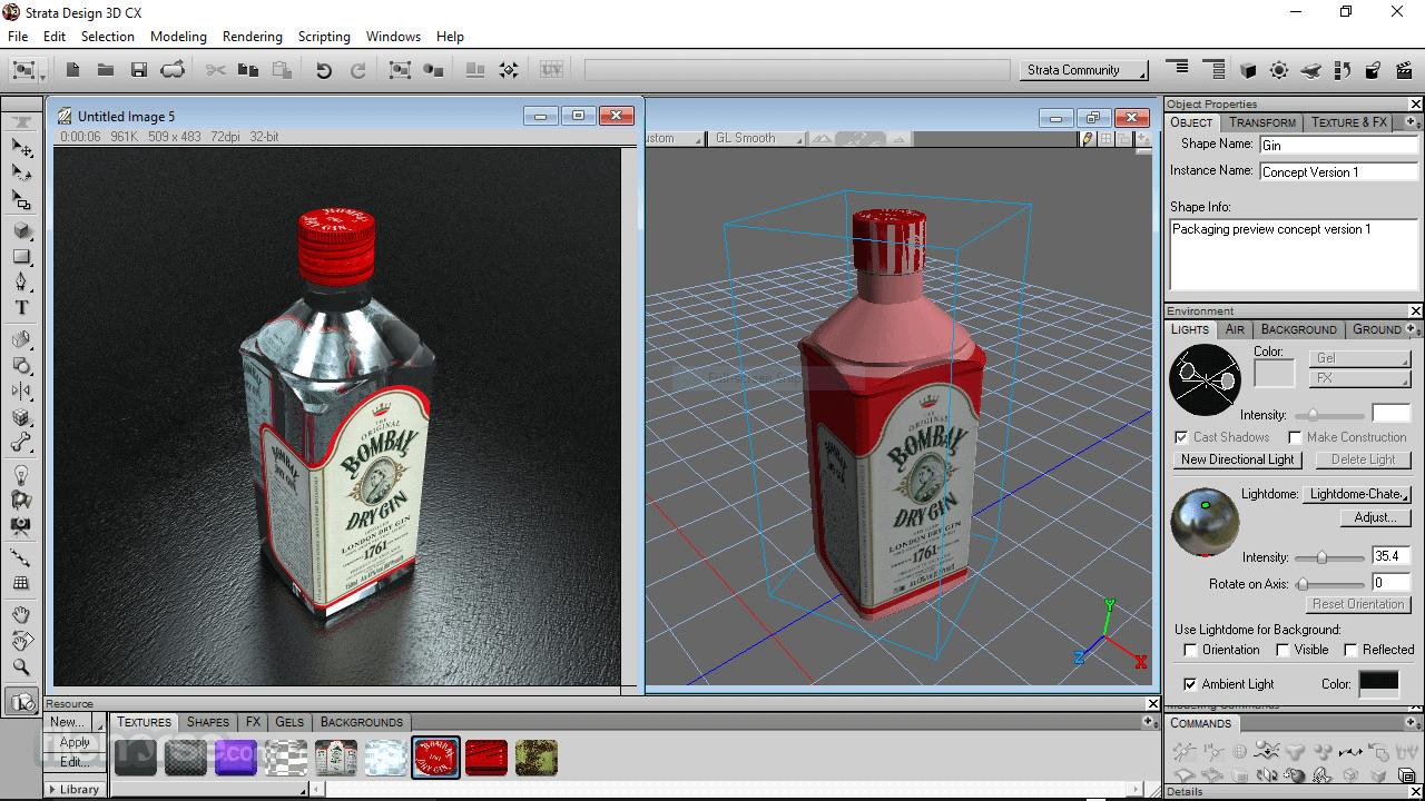 Strata Design 3D CX 8.0 Screenshot 1