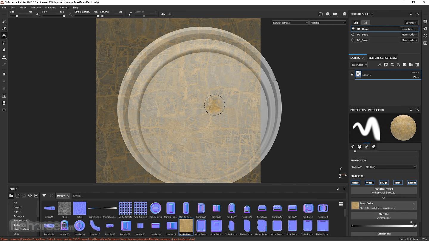 Substance Painter 2021 Screenshot 4