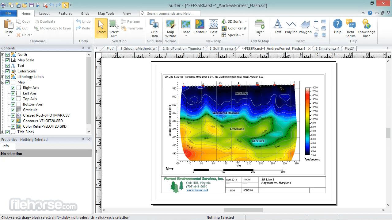 Surfer 20.1 Screenshot 1