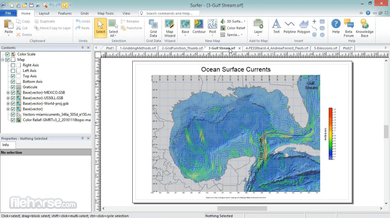 Surfer 20.1 Screenshot 2