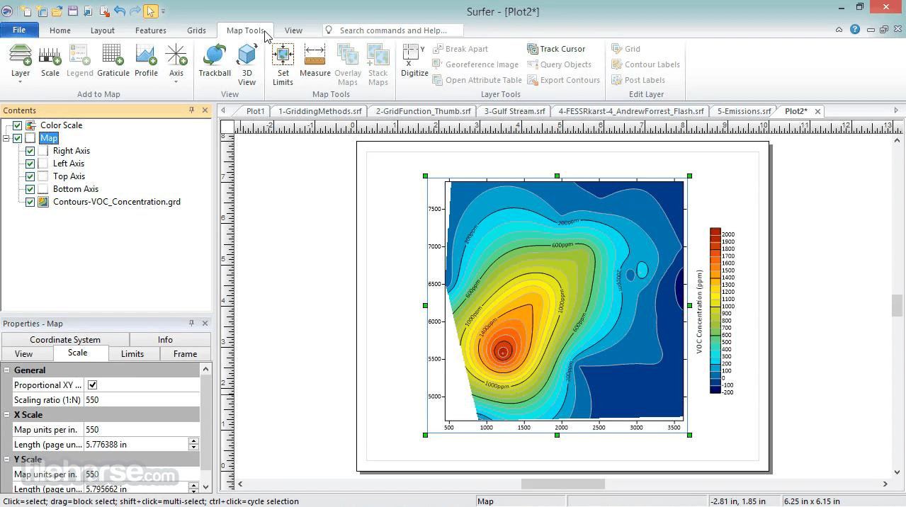 Surfer 20.1 Screenshot 5