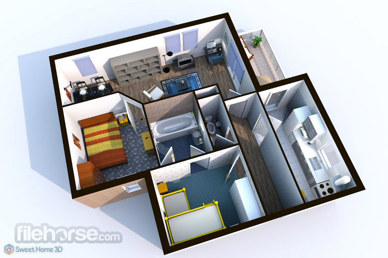 Sweet Home 3D 6.0 Captura de Pantalla 2