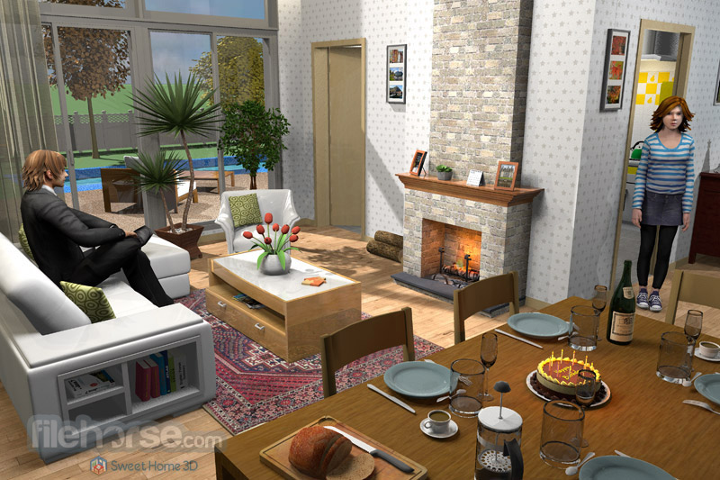 sweet home 3d 5 7 download for windows. Black Bedroom Furniture Sets. Home Design Ideas