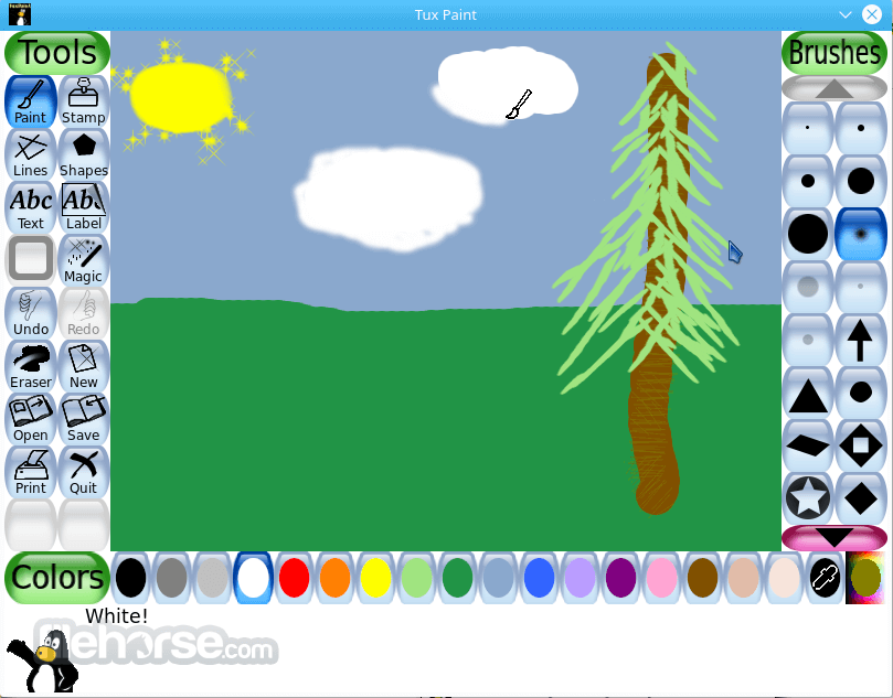 Tux paint app