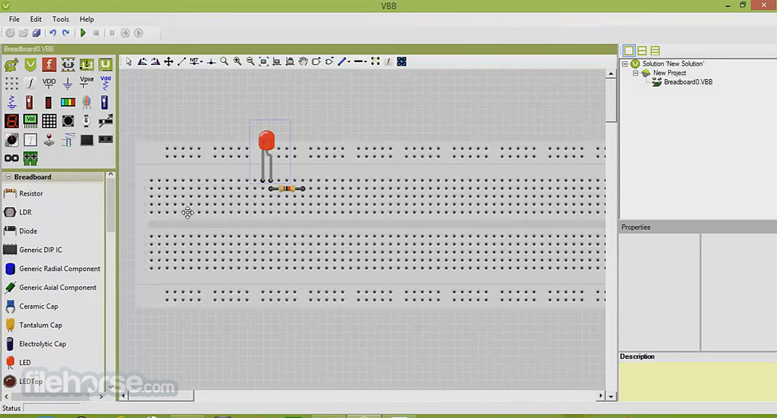 VirtualBreadboard 6.05 Screenshot 1