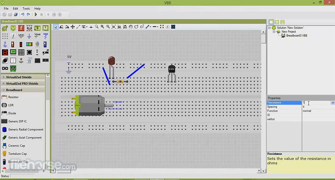 VirtualBreadboard 6.05 Screenshot 3