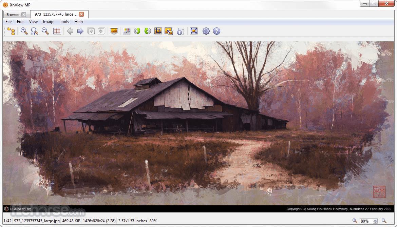 XnView MP 0.98.3 (32-bit) Captura de Pantalla 3