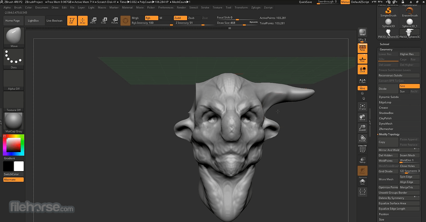 ZBrush 2019 Screenshot 4