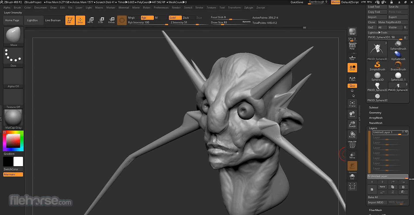 ZBrush 2019 Screenshot 5