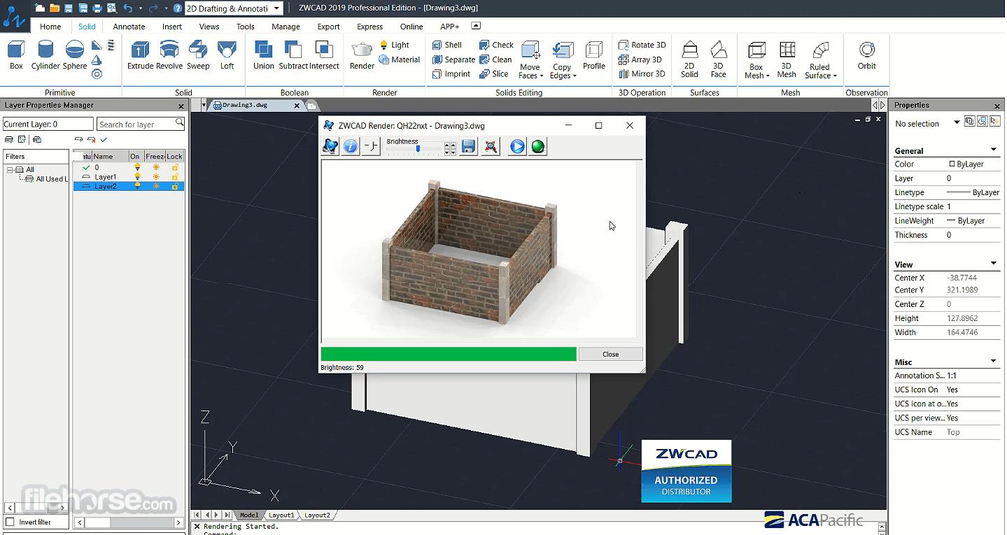 ZWCAD 2021 SP2 (32-bit) Captura de Pantalla 5