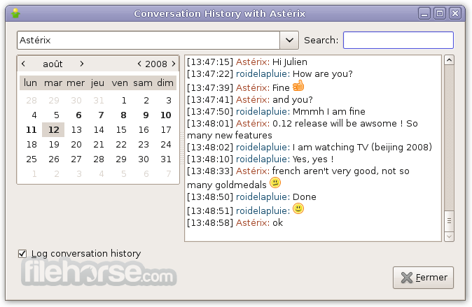 Gajim 1.2.2 (32-bit) Captura de Pantalla 4