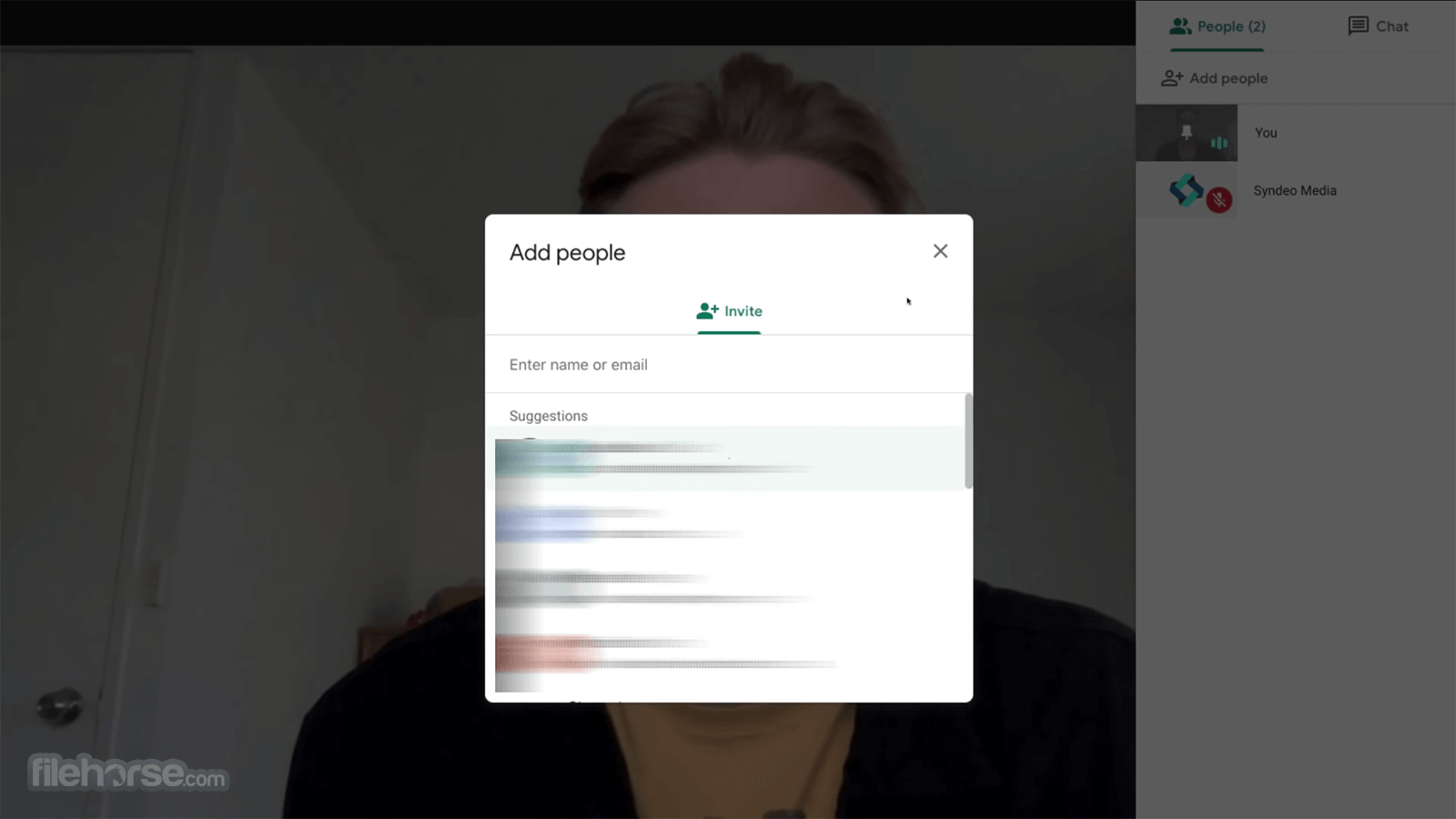 Google Meet Screenshot 1