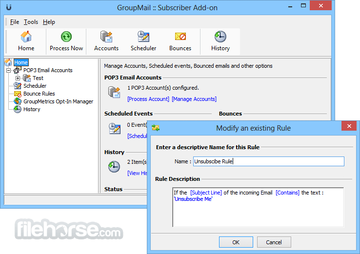 GroupMail Personal 6.0.0.59 Screenshot 4