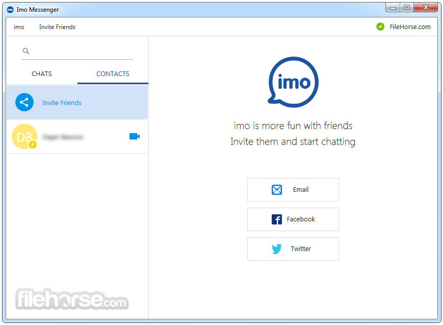 Imo Messenger for Windows 1.2.80 Screenshot 2