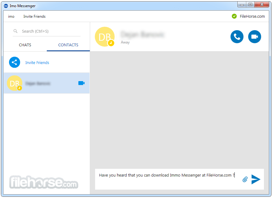 Imo Messenger for Windows 1.2.80 Screenshot 3