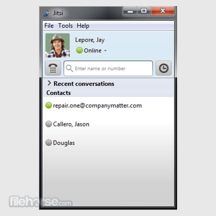 Jitsi 2.10.5550 (64-bit) Screenshot 2