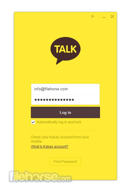 KakaoTalk for Windows 2.6.1.1681 Screenshot 1