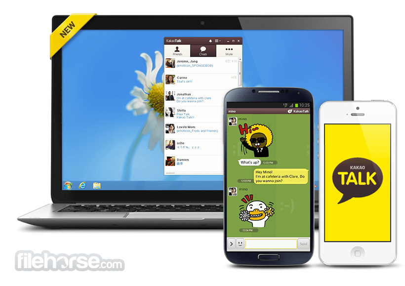 KakaoTalk for Windows 2.7.4.1975 Screenshot 2