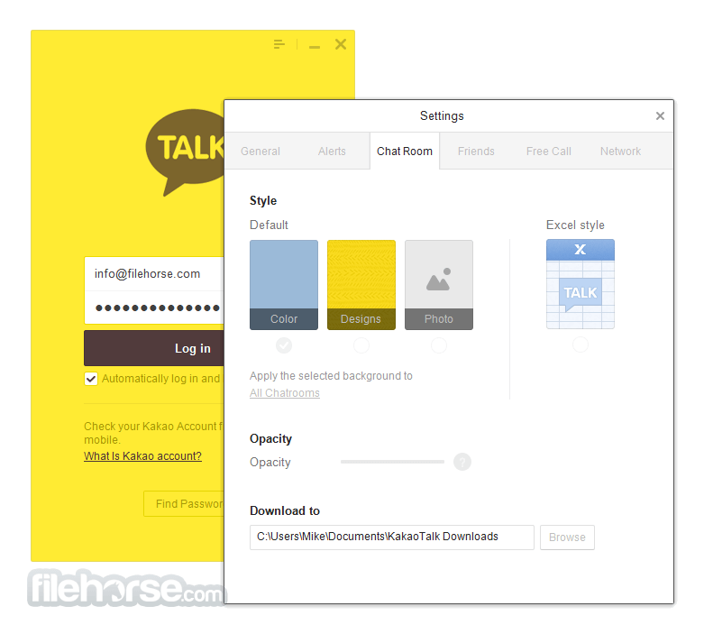 KakaoTalk for Windows 2.7.4.1975 Screenshot 3