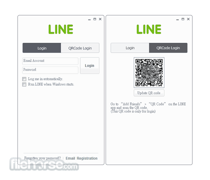 LINE for Windows 5.6.1.1629 Captura de Pantalla 1