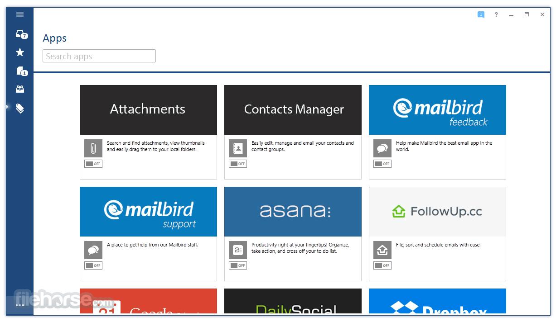 Mailbird 2.4.30.0 Captura de Pantalla 3