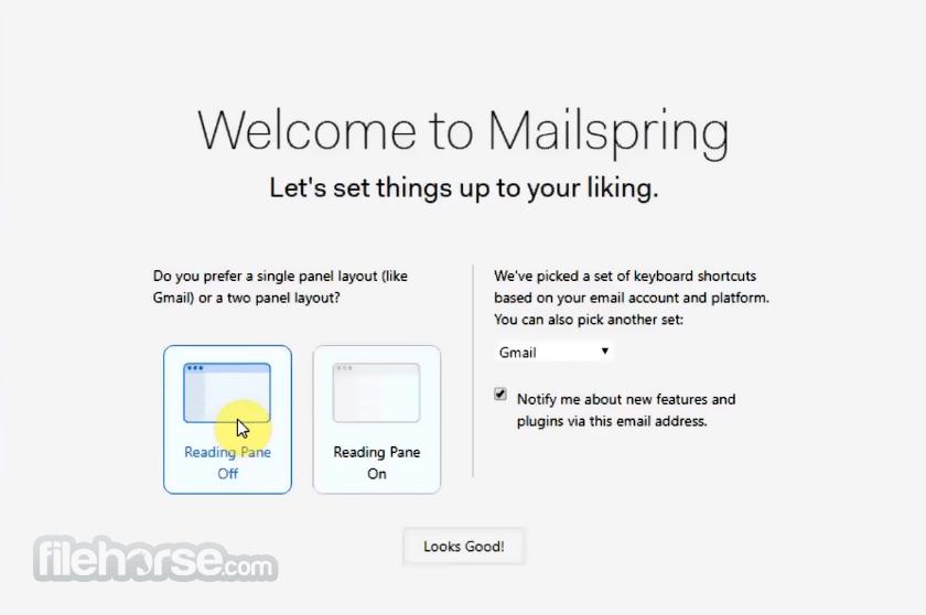 Mailspring 1.9.0 Screenshot 4