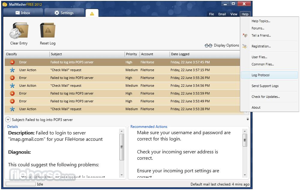 MailWasher Free 7.11.0 Screenshot 5