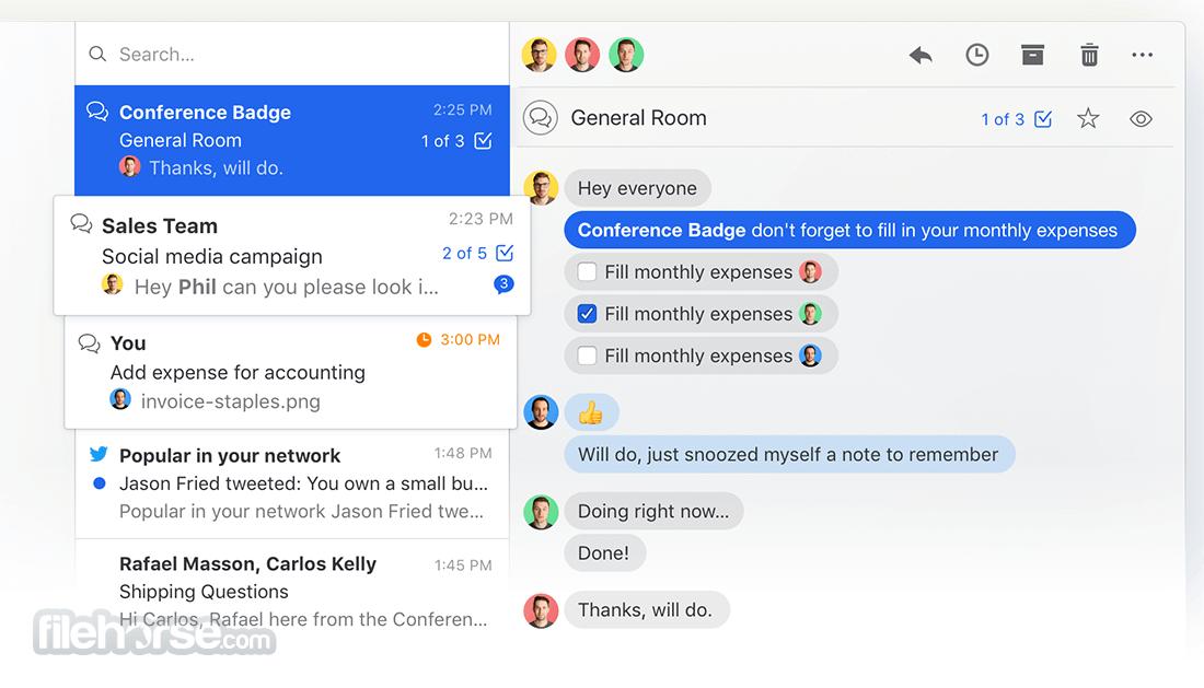 Missive 6.2.1 Screenshot 2