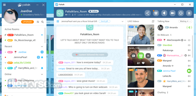 PalTalk 10.3 Build 491 Screenshot 1