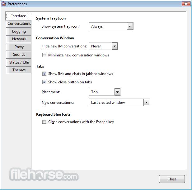 Pidgin 2.13.0 Screenshot 2