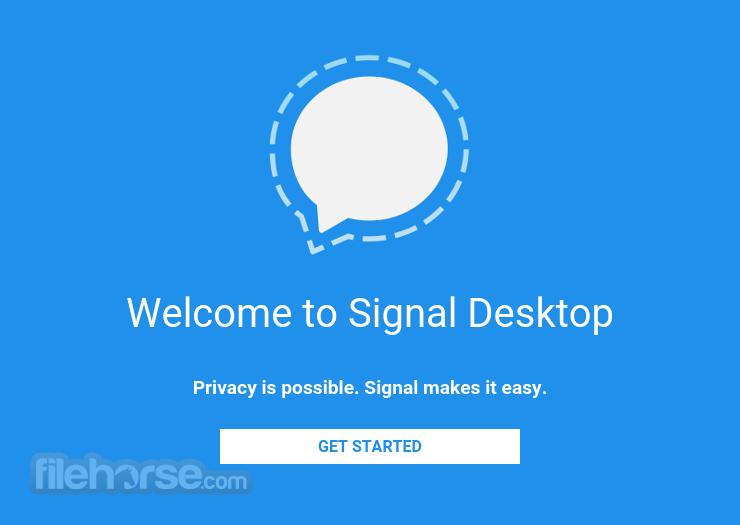Signal Desktop 5.10.0 Captura de Pantalla 3
