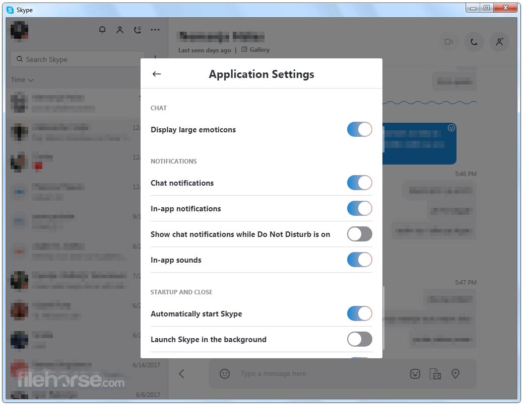 Skype 7.34.32.102 Screenshot 4