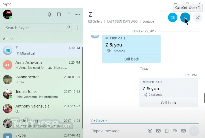 Skype for Windows 10 14.56.102 Screenshot 2