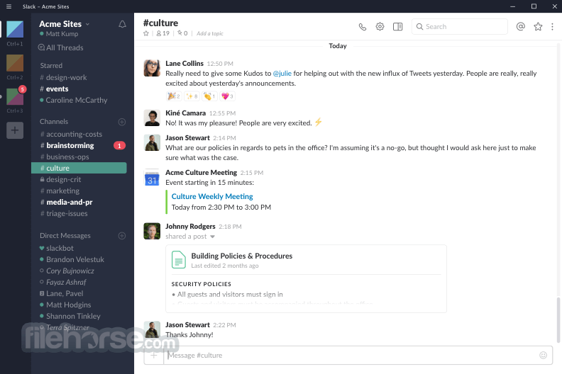 Slack for Windows 3.0.5 Screenshot 1