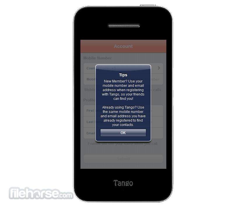 Tango for Windows 1.6.14117.0.0 Screenshot 2