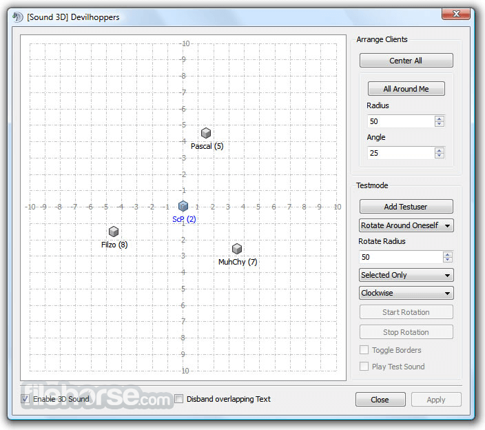 TeamSpeak Client 3.2.2 (64-bit) Screenshot 3