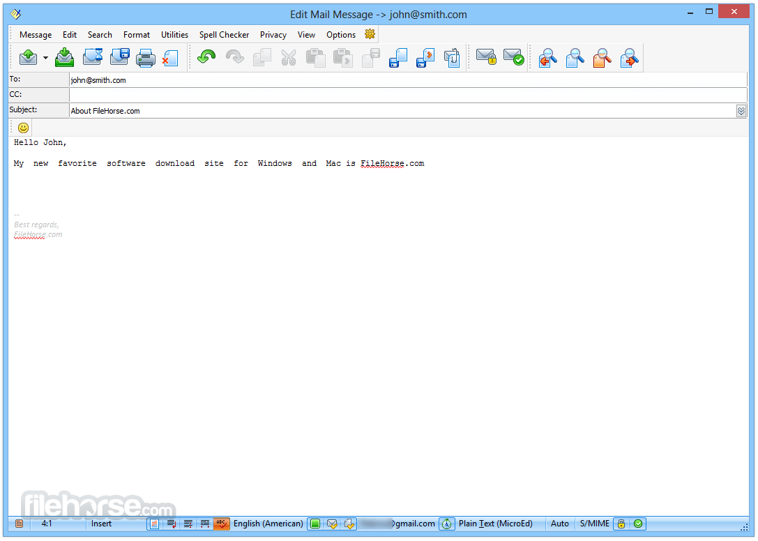 The Bat! Professional 8.3.0 (64-bit) Screenshot 3