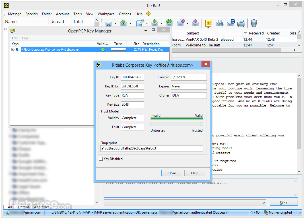The Bat! Professional 8.3.0 (64-bit) Screenshot 4