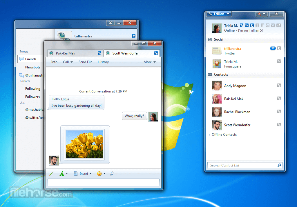 Trillian 6.1 Build 17 Screenshot 1