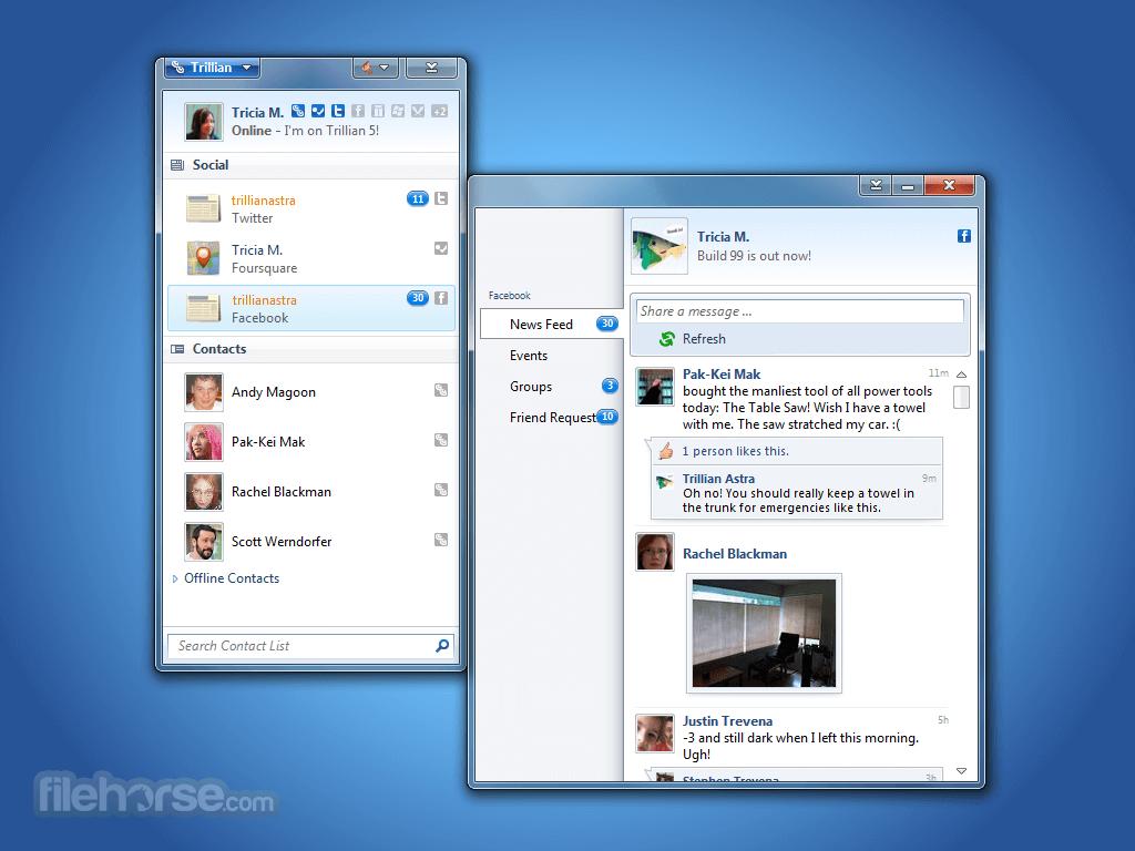 Trillian 6.1 Build 16 Screenshot 3