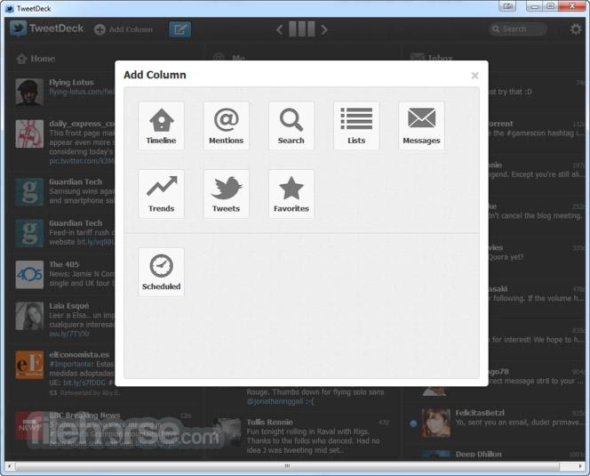 TweetDeck 3.3.8 Screenshot 2