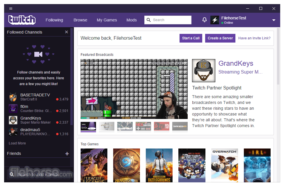 Twitch Desktop App 8.0.0 Captura de Pantalla 1