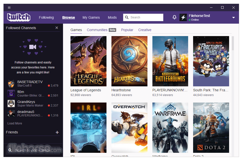 Twitch Desktop App 8.0.0 Captura de Pantalla 3