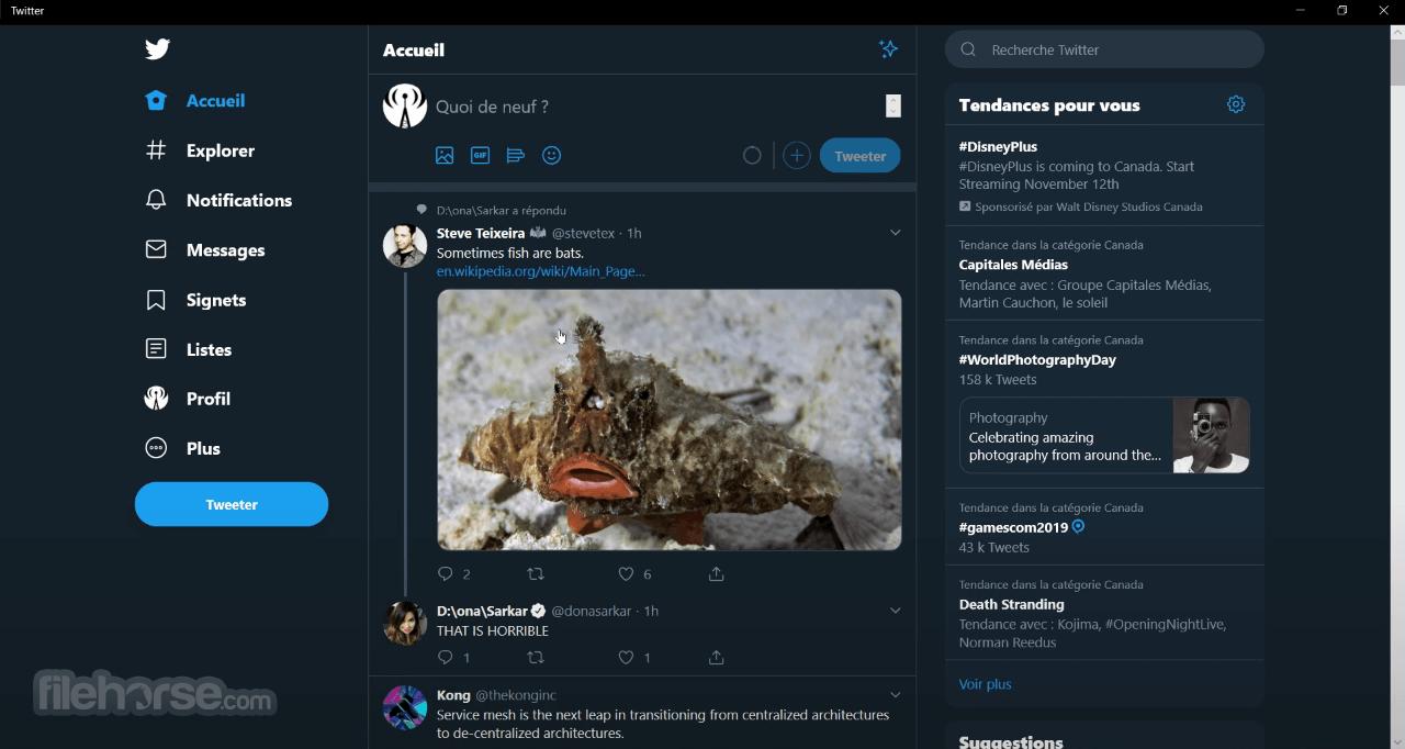 Twitter 6.1.4 Captura de Pantalla 1