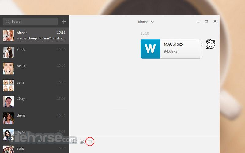 WeChat for Windows 2.6.1.75 Beta Captura de Pantalla 1