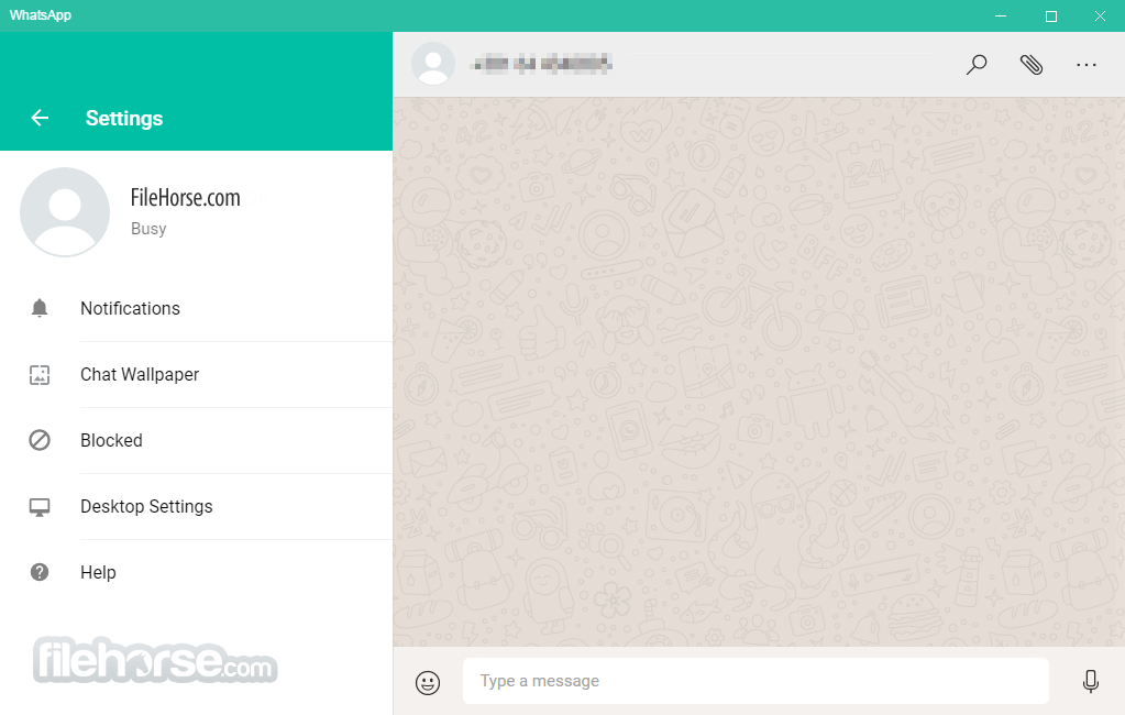 WhatsApp for Windows 0.2.8082 (64-bit) Captura de Pantalla 4