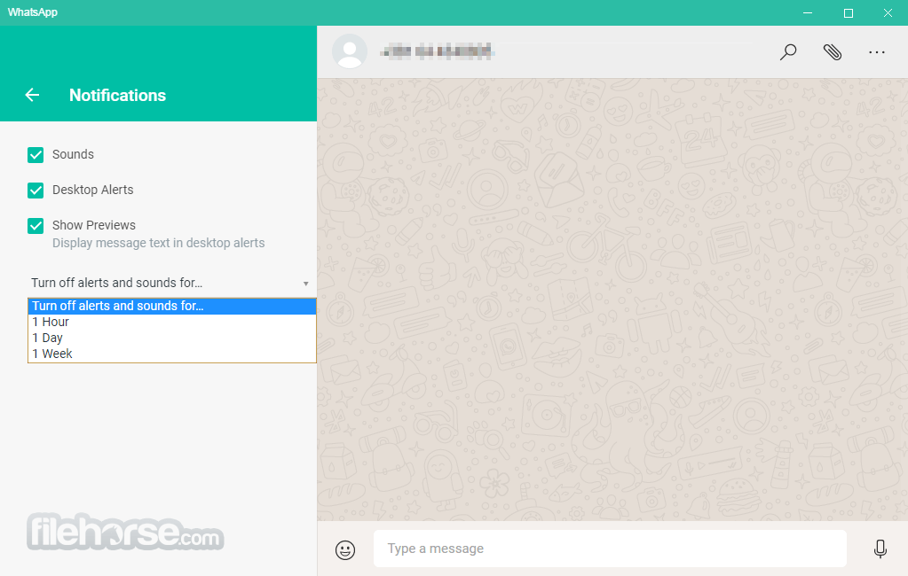 WhatsApp for Windows 0.2.936 (32-bit) Screenshot 5