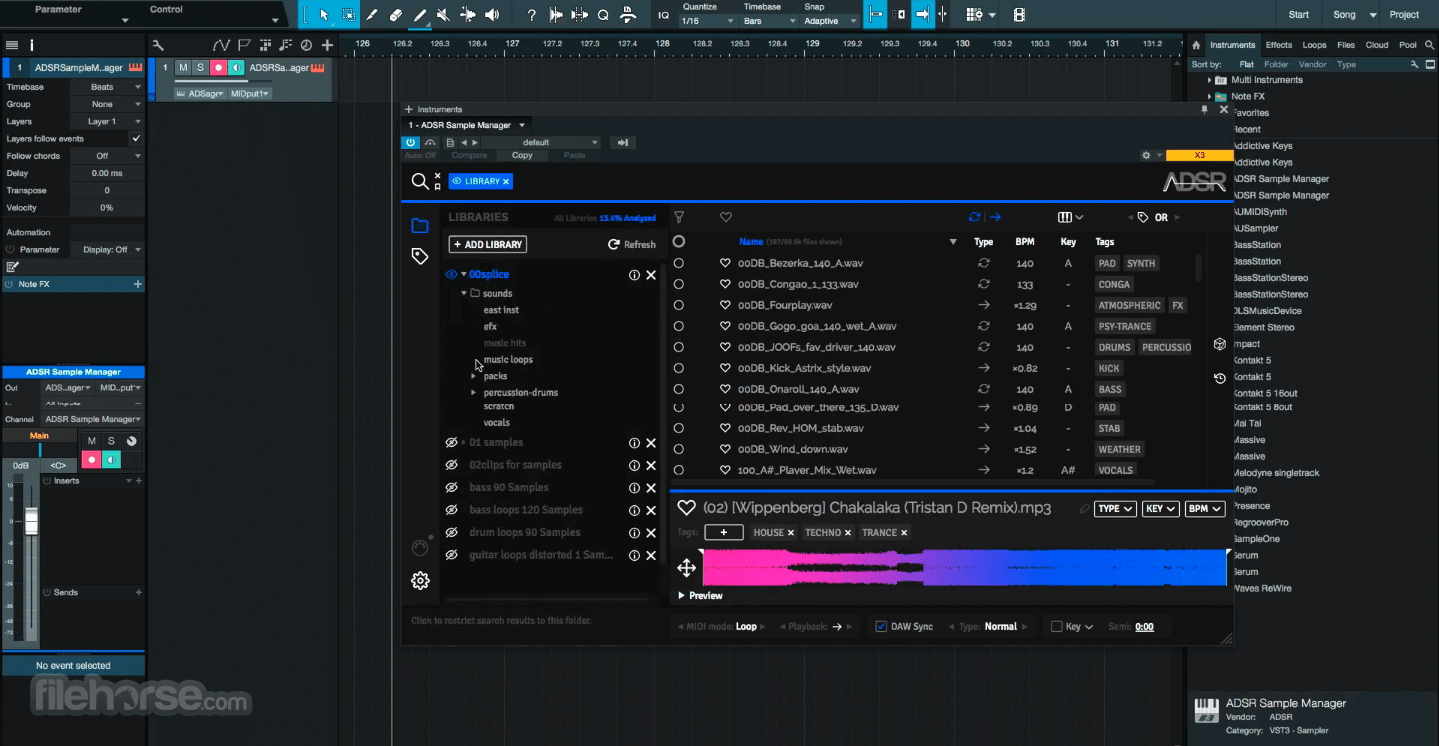 ADSR Sample Manager 1.51 Screenshot 3